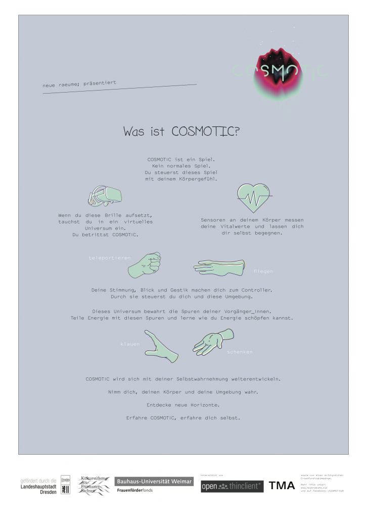 COSMOTIC Projekt-tutorial_plakat_A1