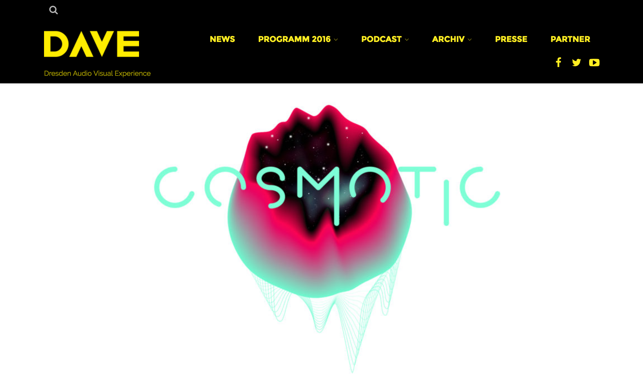 COSMOTIC @ DAVE